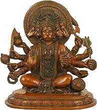 Exotic India ZDQ57-chola Panchamukhi Hanuman Statue