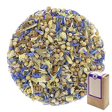 """Núm. 1181: Té de hierbas orgánico """"Ayurveda Vata"""" - hojas sueltas ecológico - 250 g - GAIWAN® GERMANY - Ayurvédico, cilantro, regaliz, cassia, jengibre, anís, acianos"""