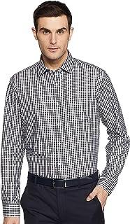 Diverse Men's Checkered Regular Fit Cotton Formal Shirt