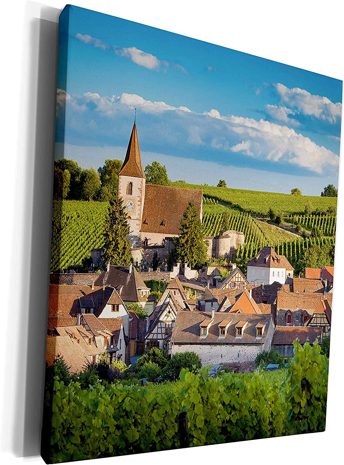 3dRose Danita Delimont - France lowest price Town win the Hunawihr along At price of