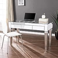 Sandusky Darien Mirrored Desk (Glam Silver)