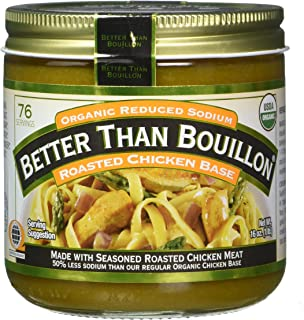 Better Than Bouillon Organic Chicken Base, Reduced Sodium – 16 oz