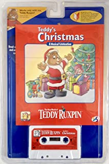 The New World of Teddy Ruxpin Teddy's Christmas Book & Cassette