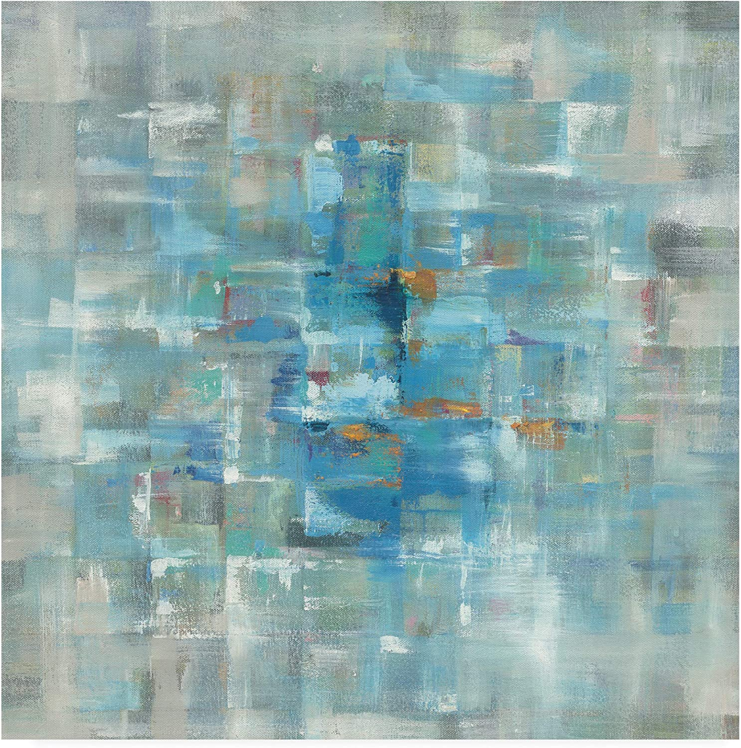 Trademark Fine Art Abstract Squares by Danhui NAI, 14x14