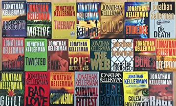 Jonathan Kellerman Suspense Hardcover Novel Collection Alex Delaware 22 Book Set