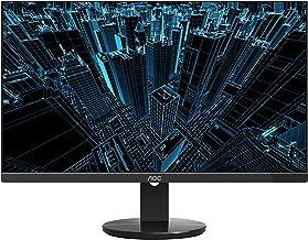 """AOC U2790VQ 27"""" 4K 3840x2160 UHD Frameless Monitor, IPS, 5ms, 1 Billion+ Colors, DisplayPort/HDMI inputs, VESA"""