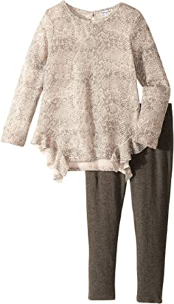 Splendid Littles - Python Print Loose Knit Set (Toddler)