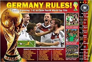 PosterWarehouse2017 Germany CAPTURES 2014 World Cup Soccer Poster