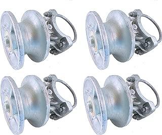 Cantilevered Gate Rollers, Cantilevered Rollers, Rolling Cantilever, Slide Gate Roller Hardware, for 4