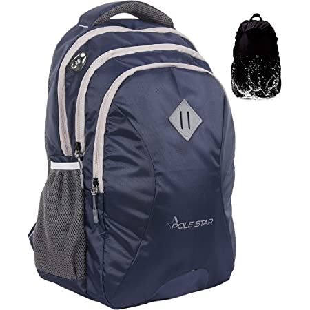 POLESTAR LEADER 34 litres Navy casual backpack /bag with laptop compartment