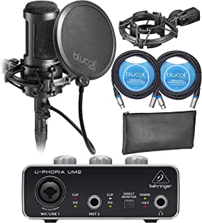 Audio-Technica AT2050 Multi Pattern Microphone Bundle with U