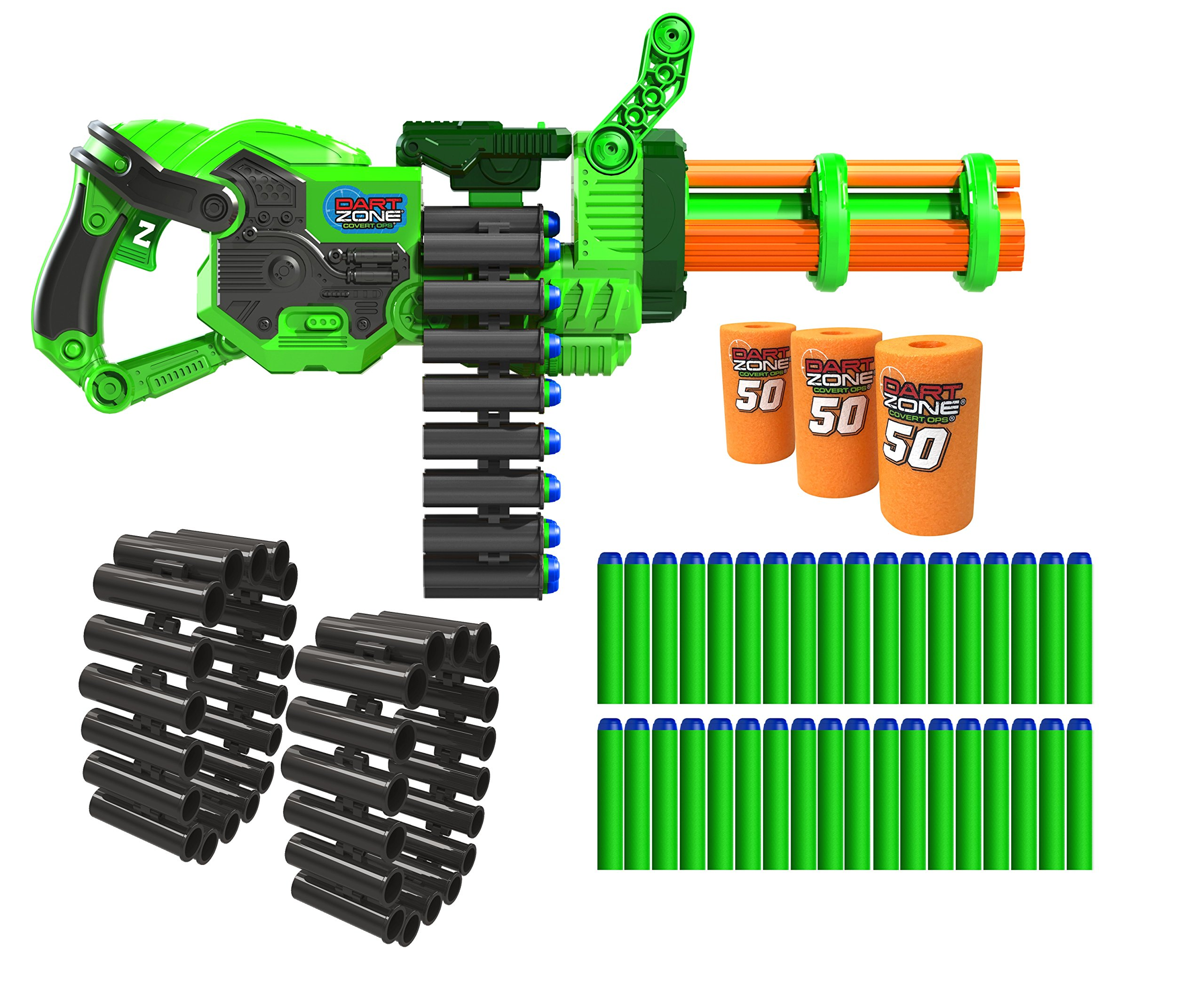 Dart Zone Commando Gatling Blaster