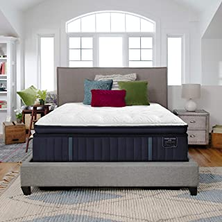 Stearns & Foster Estate, 14.5-Inch Luxury Firm Euro Pillowtop Mattress and 5-Inch Foundation, King, Hand Built in The USA, 10 Year Warranty