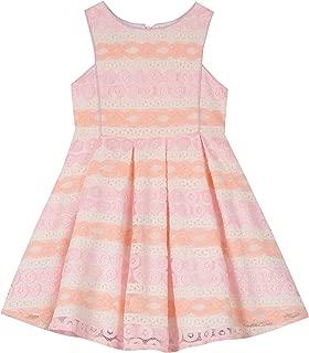 PIPPA & JULIE Baby Girls Sleeveless Lace Party Dress
