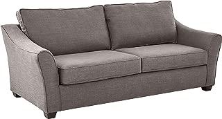 Ravenna Home Kristopher Modern Curved Arm Sofa, 88