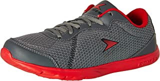 Power Men's Edge Inb314 Grey and Silver Running Shoes - 8 UK/India (42 EU) (8082540)