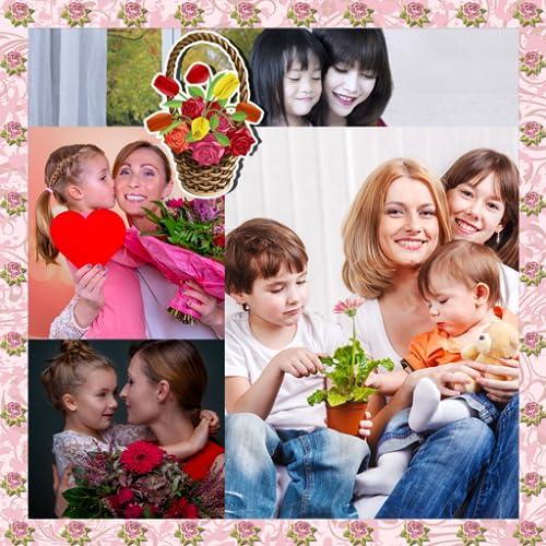 Collage del día de las madres