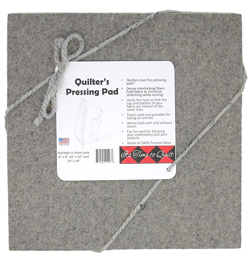 It's Time to Quilt Quilter's Pressing Pad 14