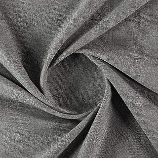 Tela de cortina de color gris con diseño de dilataciones – Más telas – Retreat 003