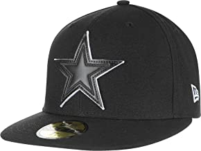 New Era Dallas Cowboys Leather Pop Fitted 59Ffity Cap