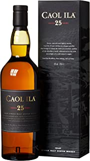 Caol Ila 25 Years Old 2010 Limited Release mit Geschenkverpackung Whisky 1 x 0.7 l