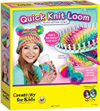 Creativity for Kids Quick Knit Loom – Make Your Own Pom Pom Hat And Accessories For Beginners (Packaging May Vary)