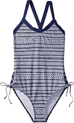 Splendid Littles Nautical By Nature One-Piece (Big Kids)
