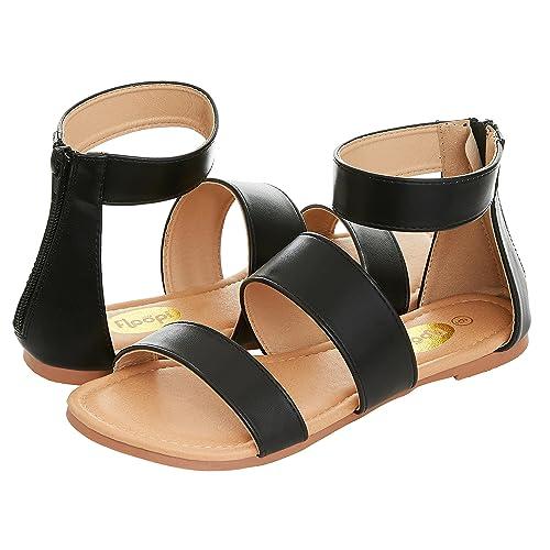 d712ed64e01a1 Dressy Black Sandals: Amazon.com