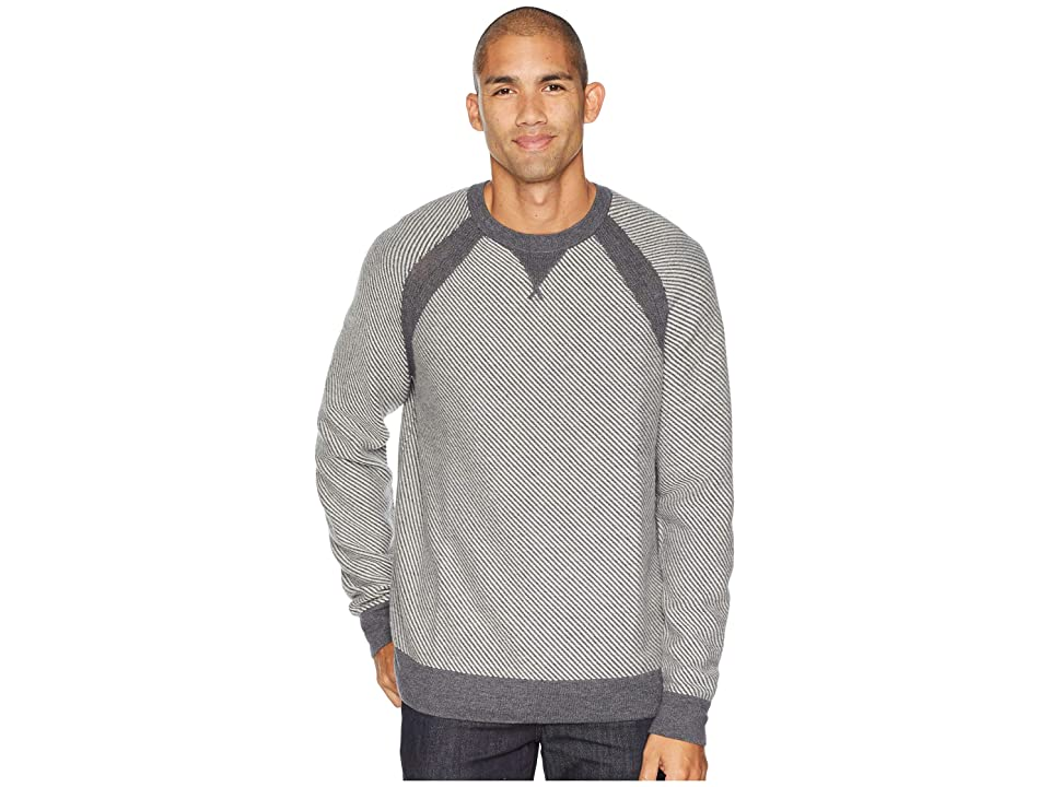 Toad&Co Strahlhorn Crew Sweater (Charcoal Heather) Men