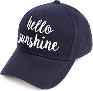 Best hello sunshine baseball hat Reviews