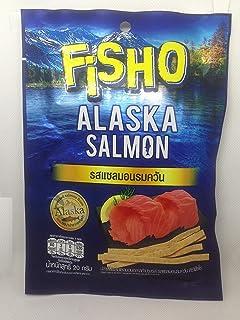 Fisho Brand, Fisho Fish & Alaska Salmon Smoked Salmon Flavour 20g X 6 Packss