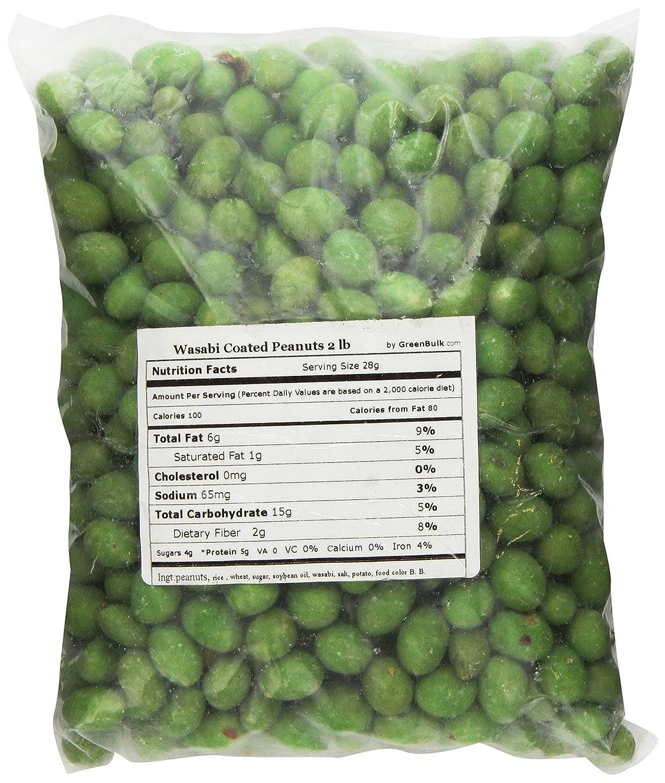 SweetGourmet Wasabi Coated Popular overseas Lb 2 Cheap mail order shopping Peanuts
