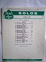 KJOS LIBRARY OF SOLOS CELLO Ed. S-5233