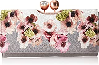Ted Baker Womens Neapolitan Leather Bobble Matinee Purse, Ivory - 155180