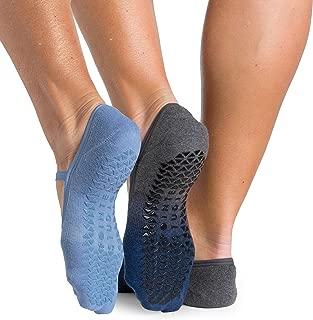 Pointe Studio Women's Grip Dance Strap Socks for Ballet, Barre, Dance (3 pairs)