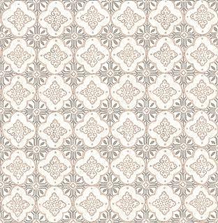A-Street Prints 1014-001855 Geo Quatrefoil Wallpaper, Pink