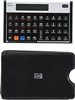 HP 12C Platinum Calculator