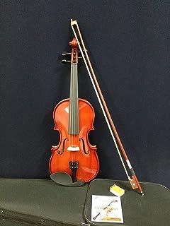Caraya 1/16 Size Violin w/Hard Foam Case, Bow, Extra String Set, Rosin, Chin-Rest