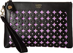 Lodis Accessories - Laguna Perf RFID Koto Wristlet Pouch