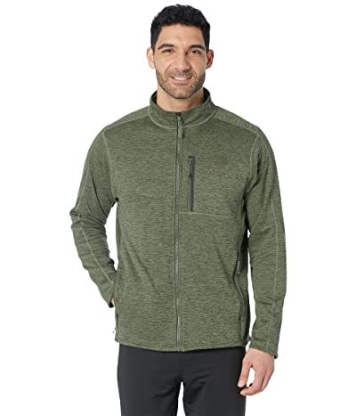The North Face Canyonlands Full Zip (Four Leaf Clover Heather) Men