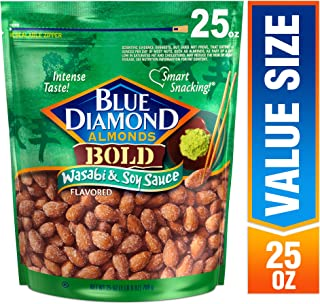 blue diamond wasabi almonds