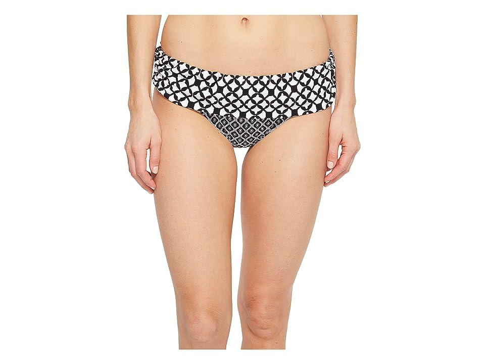 Athena Baja Geo Lani Banded Pants (Black) Women