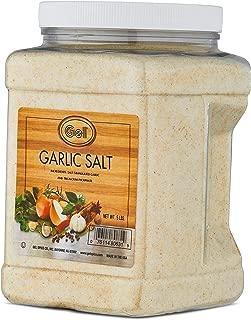 Gel Spice Garlic Salt Food Service 5lb