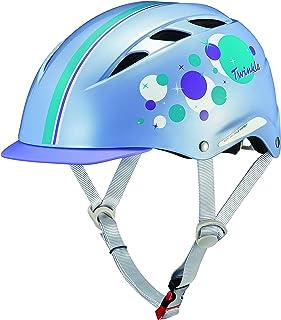 オージーケーカブト(OGK KABUTO) 自転車 ヘルメット 子ども用 CHAMP(チャンプ) ツゥインクルパープル 児童用(頭囲:50~54cm)