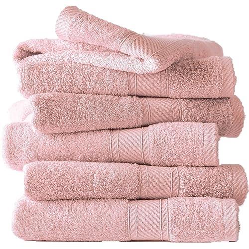 Golden Rule Premium Gant de toilette Serviette de b/éb/é /à capuche Super /épais et doux et absorbant Serviettes de bain de bambou pour nouveau-n/é fille ou gar/çon et enfants rose