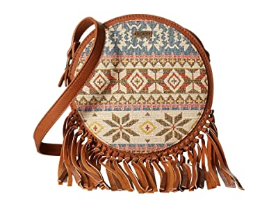 Roxy Here We Come Crossbody (Camel) Cross Body Handbags