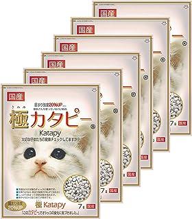ペパーレット 猫砂 極カタピー 7リットル (x 6) (ケース販売)