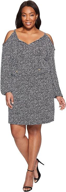 Plus Size Thora Cold Shoulder Dress