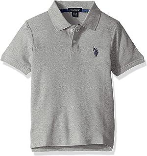 U.S. Polo Assn. Boys' Short Sleeve Performance Polo Shirt
