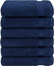 Luxury & Hotel Quality 100% Turkish Genuine Cotton 6-Piece Hand Towel Set, Extra Soft & Absorbent for Face & Hands by Unit...